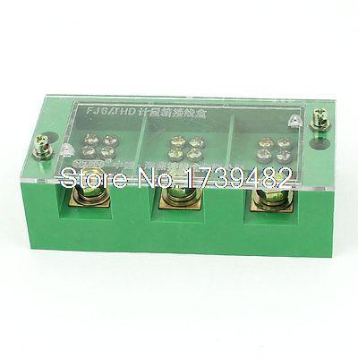 660V 30A 3-фазный блок распределения питания Клеммная распределительная коробка для 6 метров