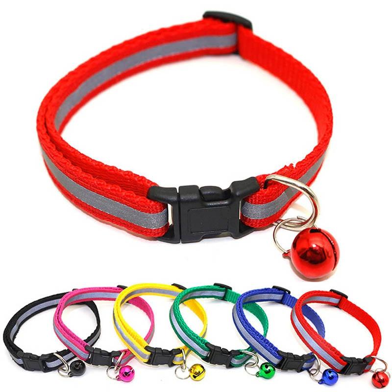 Gato Collar ajustable de Nylon para mascotas tracción perro gatito cuello Halter gatos gato Collar de cinturón