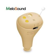 MeloSound prothèses auditives rechargeables CIC numérique Mini aide auditive Invisible prothèses auditives amplificateur sonore