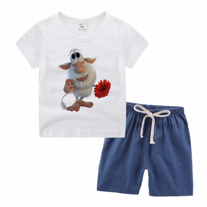 Little Boy Girl Funny Cartoon Print T-shirt Kid Baby Harajuku Clothing Children Toddler Taekwondo Tee Shirt