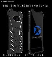 R-JUST BATMAN Phone Case For Samsung Galaxy S10 S9 S8 S6 S7 edge note 10 9 8 A9S A8s Luxury Doom Heavy Duty Armor Metal Aluminum