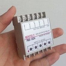 10DA Din рейка крепления SSR 5 каналов Quintuplicate пять входов 3 ~ 32VDC выход 24 ~ 380VAC DC твердотельные реле