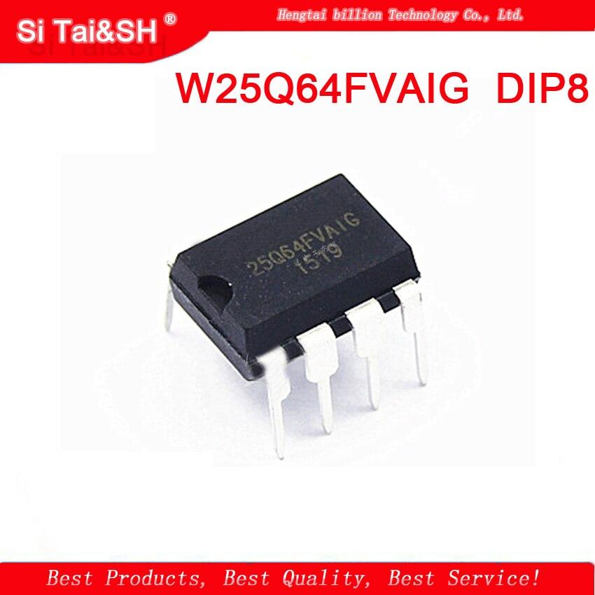 1 шт. W25Q64FVAIG W25Q64BVAIG W25Q64 25Q64FV DIP8