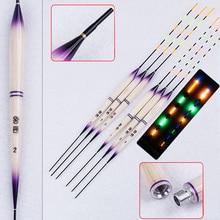 2020 nuit lumière flotteurs lumineux deux modèles lumière batterie pêche bouchon 1-3 # Balsa carpe Flotador Pesca pêche outils sattaque