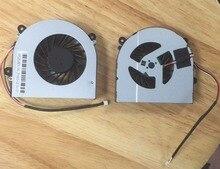 Nouveau ventilateur de refroidissement pour Clevo W150 W150ER W230SS W230ST W350 W350ET série ventilateur de refroidissement cpu