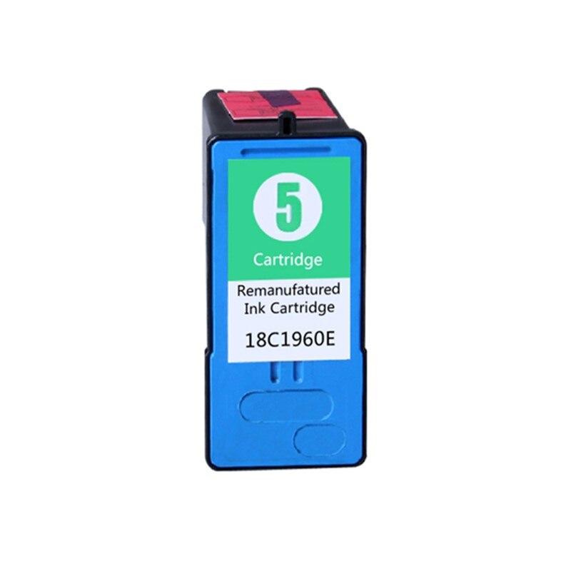 LM5 18C1960 Remanufaturados para Lexmark Cartucho De Tinta #5 5 LM 5X2690X3690X4690X5690X6690 Z2390 Z2490 Tri Color Inkjet
