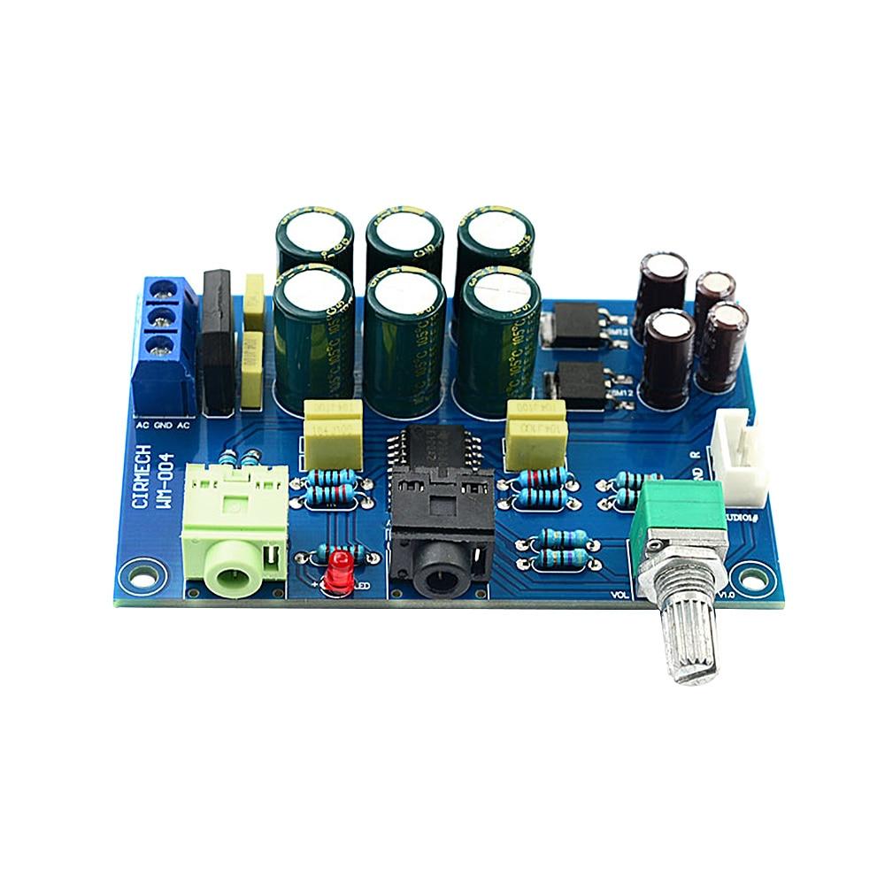 AIYIMA-placa amplificadora de auriculares, TPA6120, HIFI, TPA6120A2, entusiastas, Amplificador de ruido