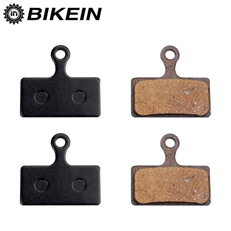 2 pares de almohadillas de freno de disco hidráulico para bicicletas de montaña Shimano M988 M985 XT/TR M785/ SLX M666 M675/ Deore M615/ Alfine S700