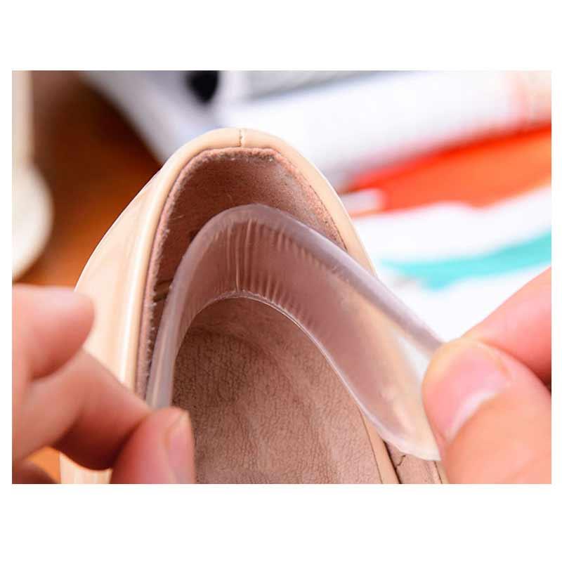 5Pairs Foot Care Tools Silicone Gel Shoe Heel Protectors Pain Relief Gel Insoles Heel Pad Stick Pedicure Halux Valgus Massager