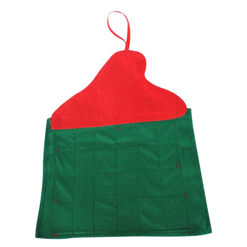 Santa Claus Navidad Calendario de Adviento cuenta atrás decoración de Navidad tela no tejida abrazo-ofertas