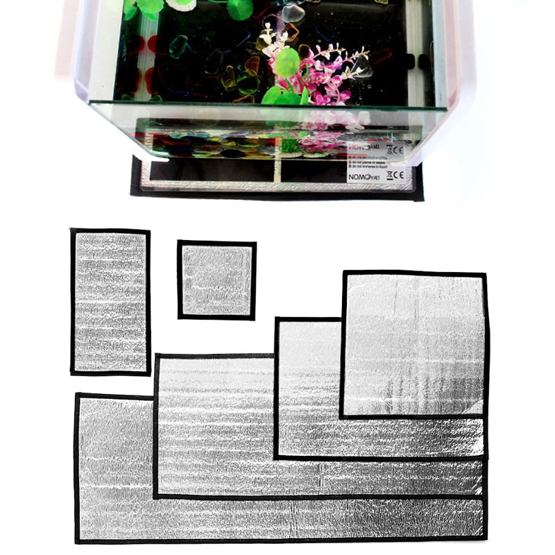 1 ud. Película reflectante reptil para incubadora Animales Mascotas calentador almohadilla de calefacción