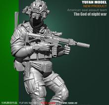 Yufan Modell 1/35 Harz Soldat Montage Figura UNS Armee YFWW35-1808