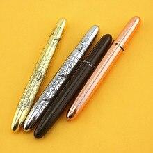 MINI stylo bille ROLLER CROCODILE noir + pochette soignée CONVIENCE 9 CM noir cuivre doré argent 6 couleurs au choix