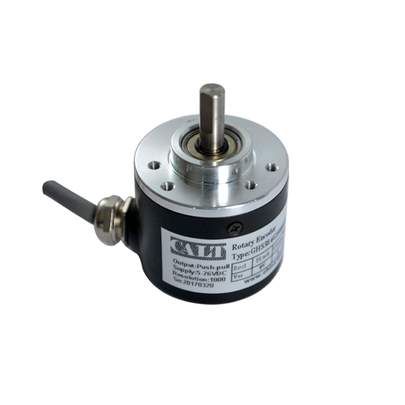 CALT OEM 360 pulse optical incremental encoder NPN open collector output replacement for OVW2-036-2M calt ghs4006 series pulse reading mechanical rotary encoder 40mm size npn linear encoder sensor