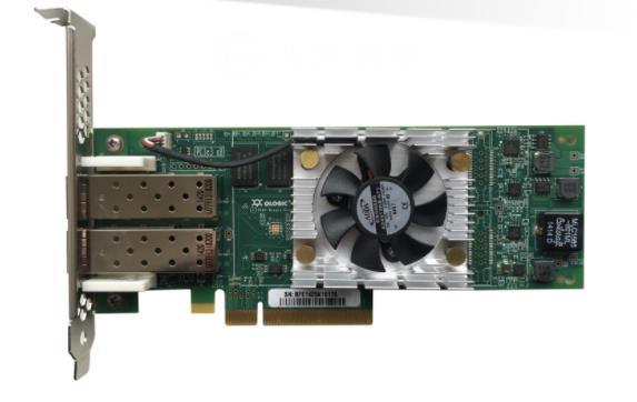 QLogic QLE8362-SR-CK QLE8362 2 16 10GbE SR-óptica FC TCP/IP SAN iSCSI FCoE adaptadores de red PCIe tarjeta controlador