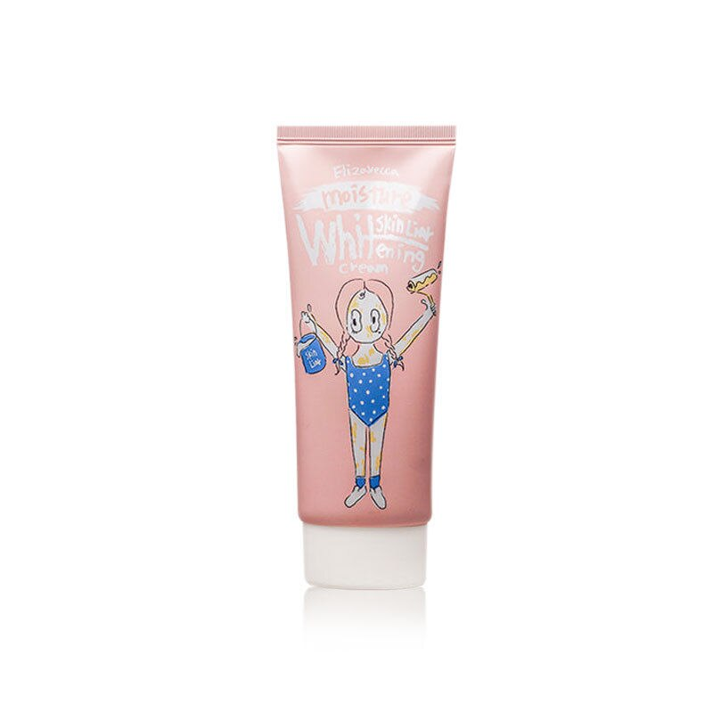 Elizavecca Skin Liar Moisture Whitening Cream 100ml Instant Whitening Face Cream Moisturize Oil Control Collagen Facial Cream