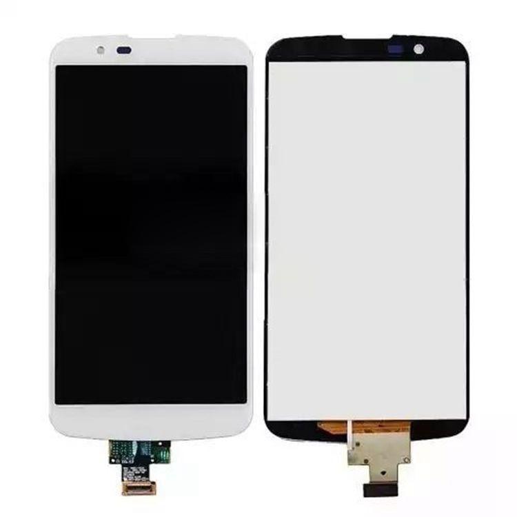 Para LG K10 LTE K420N K410 K430 pantalla LCD con montaje de digitalizador con pantalla táctil negro blanco