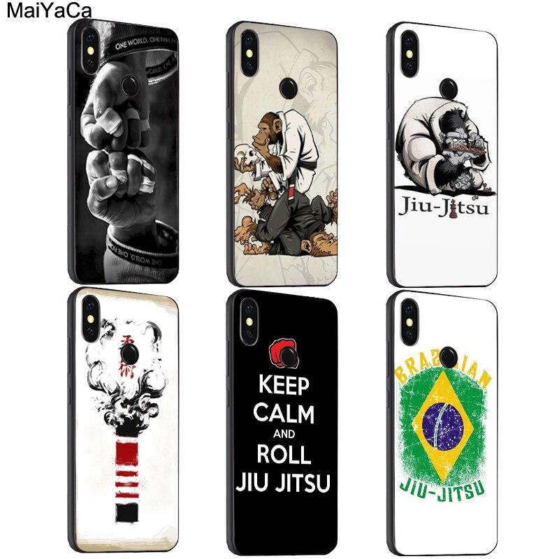 Maiyaca bjj jiu jitsu brasileiro caso para xiaomi redmi nota 8 k30 9 pro 7 8 t 9 s 7a 8a mi 10 9 t 9 se a3 max3 mix3