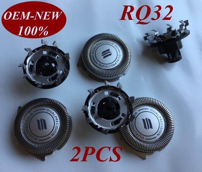2 pcs RQ32 Substituir lâmina de barbear cabeça para Philips shaver RQ312 RQ328 RQ331 RQ361 YS523 YS526 RQ1160CC RQ1180CC RQ1131 RQ1175