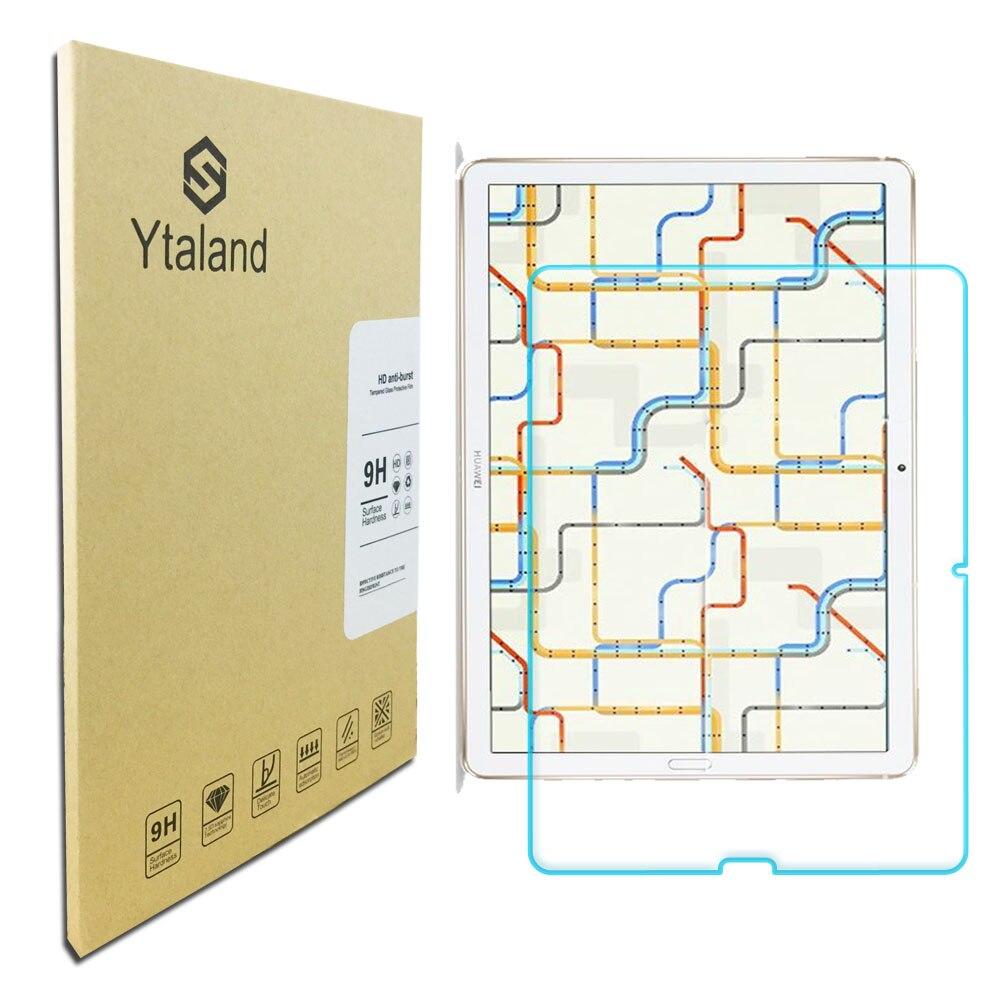 "Película protectora de pantalla de vidrio templado Ytaland 9 H para Huawei mediapad Media Pad M6 10,8"""