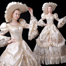 Robe Marie Antoinette robe Rococo Baroque mascarade costume historique 18th siècle victorien Crinoline boule et robe de mariée