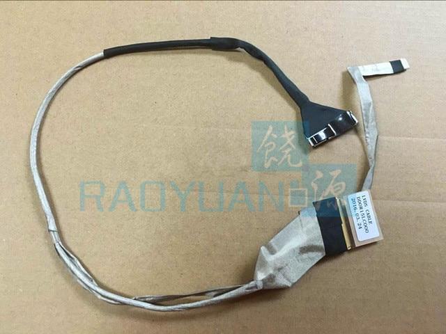 Marca nuevo portátil Cable de vídeo de LCD para HP pabellón G6 G6-1000 G6-1200 G6-1100 dd0r15lc000 DD0R15LC050