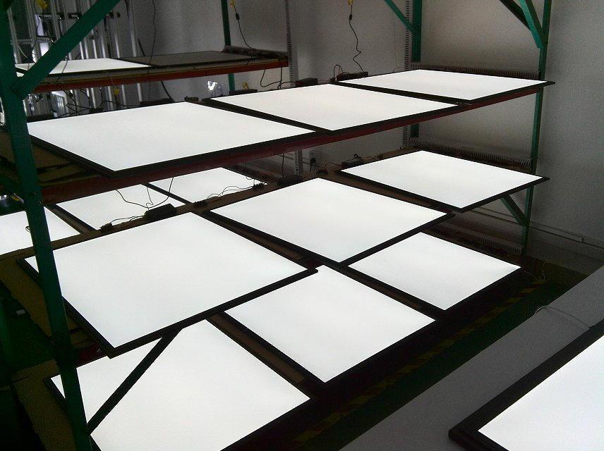 Envío Gratis, Panel LED plano de alta calidad regulable de 36W 620x620mm, Panel LED plano alemán SMD 2835 CE, FCC, TUV, controlador aprobado por SAA