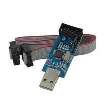 USBASP USBISP AVR Programmer 10Pin Kabel USB ISP USB ASP ATMEGA8 ATMEGA128 ATtiny KAN PWM Ondersteuning Win7 64 k 64 64Bit 3.3 v/5 v