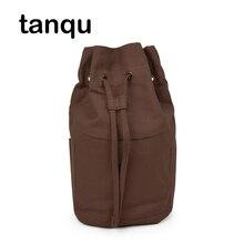 Tanqu couleur Pure cordon doublure pour Obasket Obag tissu boucle toile tissu poche intérieure sac à main insertion pour O Basket O sac