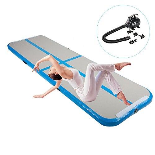 Inflable Rosa barato colchón para gimnasia gimnasio pista de aire Tumble pista de aire en venta