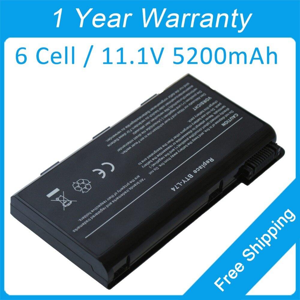 Новый 5200 мАч MS-1682 для ноутбука msi CX500 CX600 CX605 CX610 CX620 CX623 CX630 CX720 CX700 GE700