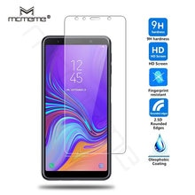 9H 2.5D protector de pantalla HD para el modelo Samsung galaxy A7 2018 de vidrio templado Samsung M20 A7 2018 A9 A8S A750F película vidrio protectora