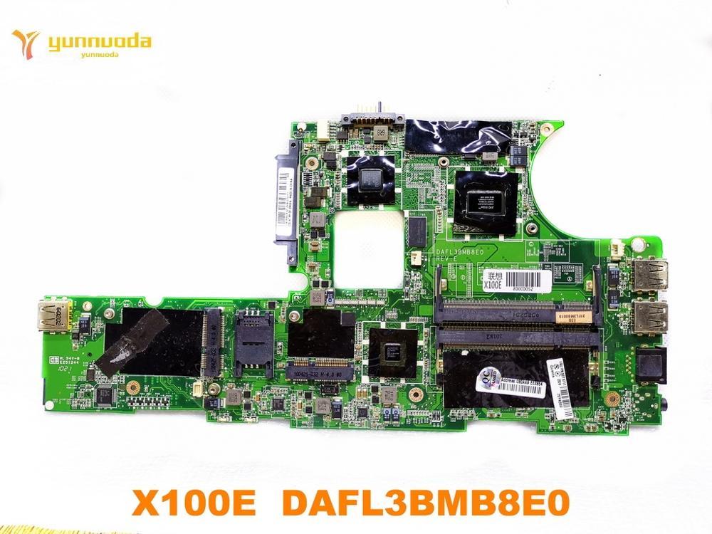 Original para Lenovo X100E laptop placa base X100E DAFL3BMB8E0 probado buen envío gratis