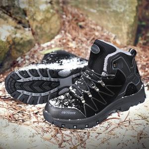 Hot Sale Fashion High Quality Winter Boots Bottom Wearproof Antiskid shoes Zapatos de hombre Male Warm Plush Snow Boots Krasovki
