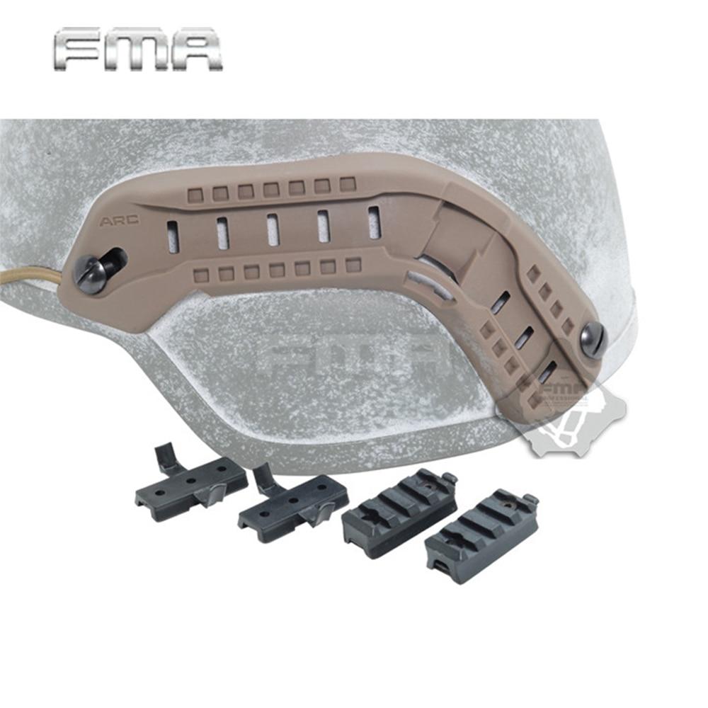 FMA Airsoft ACH-ARC Helmet Accessory Rail Mount Kit FMA MICH 2000 Helmet Guide Suit Lanyard DIY Accesories For Helmet Hunting