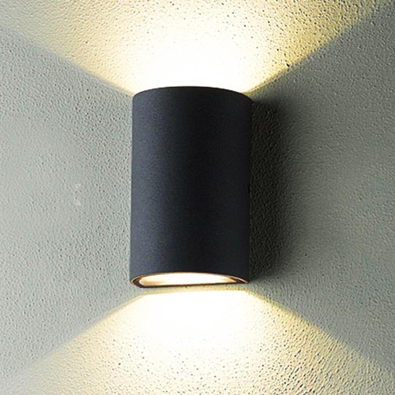 Lámpara de pared para exteriores de 10 W, iluminación de paisaje para parques y jardines, sendero exterior, balcón, balcón, luz, pasillo, villa, candelabro