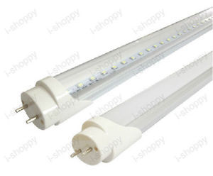 10X T8 Fluorescent Tube Replacement LED Light BAR SMD 2835 Strip 2ft 14W Frosted