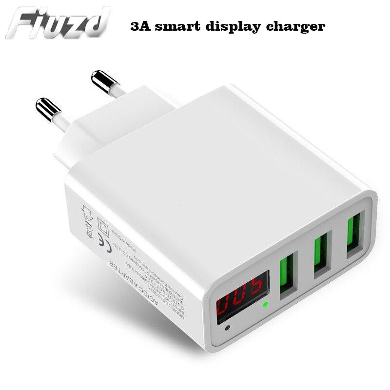 Светодиодный дисплей QC 3,0 USB зарядное устройство для huawei p30 p20 p10 p 30 p 20 p 10 pro lite быстрое зарядное устройство для телефона для Xiaomi Mi 9 se 9t a3 Max