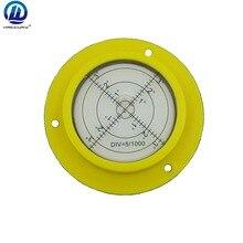 HACCURY 90*17 мм желтый цвет высокая точность уровень строительной техники уровень пузыря Универсальный транспортир