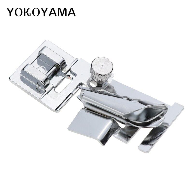 YOKOYAMA Säumer Nähfuß Nähmaschine Teile Schnelle Pack Bar Drücken Fuß Fit Passt Brother/Janome/Feiyue Nähen teile