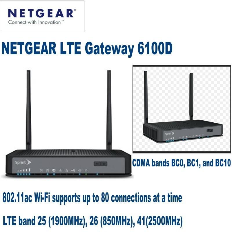Lote de 30 Uds NETGEAR LTE Gateway LG6100D