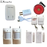 Systeme dalarme domestique anti-cambriolage  wi-fi  Design Simple  anglais  russe  chinois  application Android IOS  Push