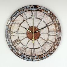 Horloge murale décorative congelée   Montre au Design moderne garantie, grande horloge murale muette, Shabby Chic, décor pour maison, salon, klok