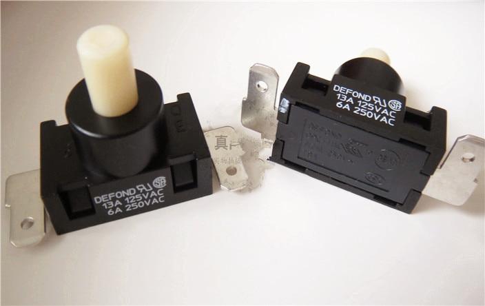 Envío Gratis 5 uds interruptor de aspiradora 16A125V 8A250V Defond DPC-1114 interruptores de límite de 2 botones.