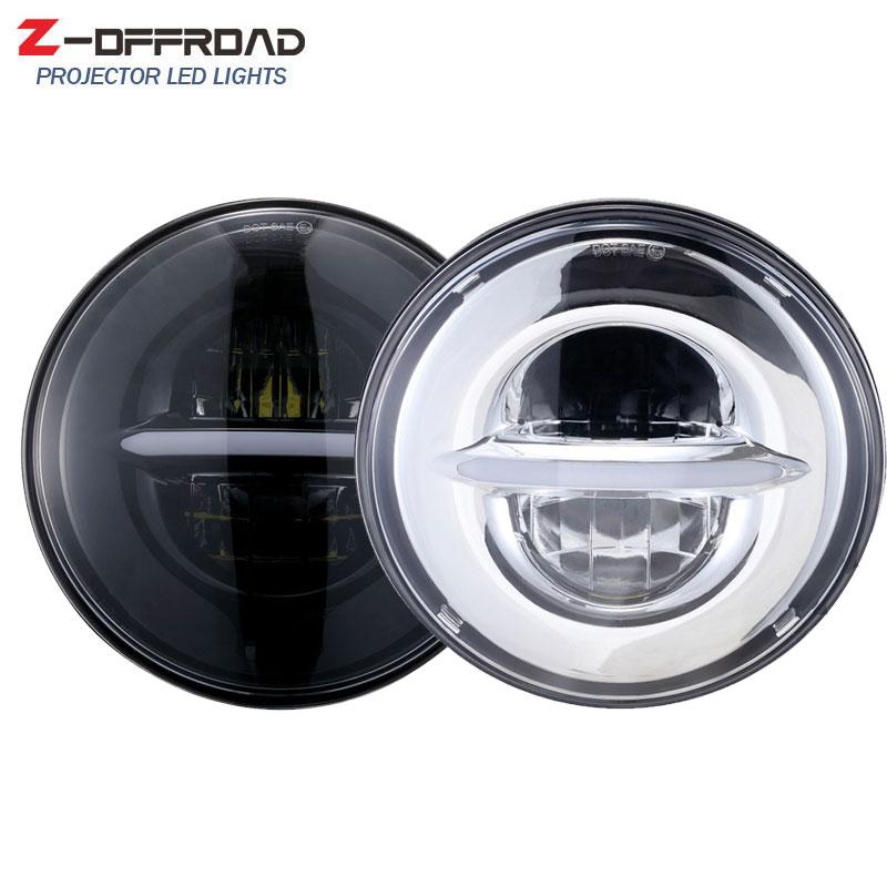 Фары головного света светодиодные для мотоциклов Softail Dyna и Sportster, 5-3/4 дюйма