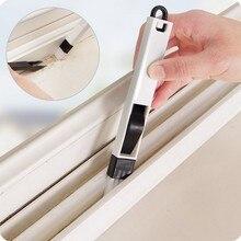 * 1 multi-function window slot brush with dustpan screen keyboard drawer wardrobe corner gap Dust removal cleaning brush 0.449