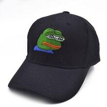 Traurig Kermit Marke Neue! Ex Machina Bay Frauen Baseball Kappe Strapback hysterese palace gorras Papa hut für MenTravis Scotts kappe