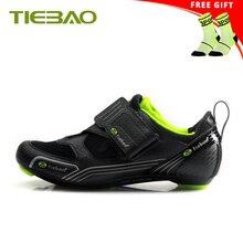 Tiebao cyclisme chaussures route sapatilha ciclismo 2019 hommes femmes superstar en plein air Triathlon chaussures athlétique cyclisme équitation baskets