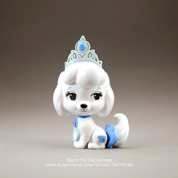 Disney Cenicienta princesa pug-perro de dibujos animados 9cm mini muñeco de acción figura Anime minicolección figurita juguete modelo para niños