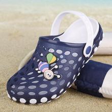 New Kids Fashion Slippers Summer Boys Shoes Cute Cartoon Comfortable Kids Slippers Anti-slip Girls Slippers Beach Shoes Children